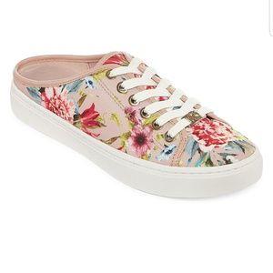 Floral Mule Sneaker